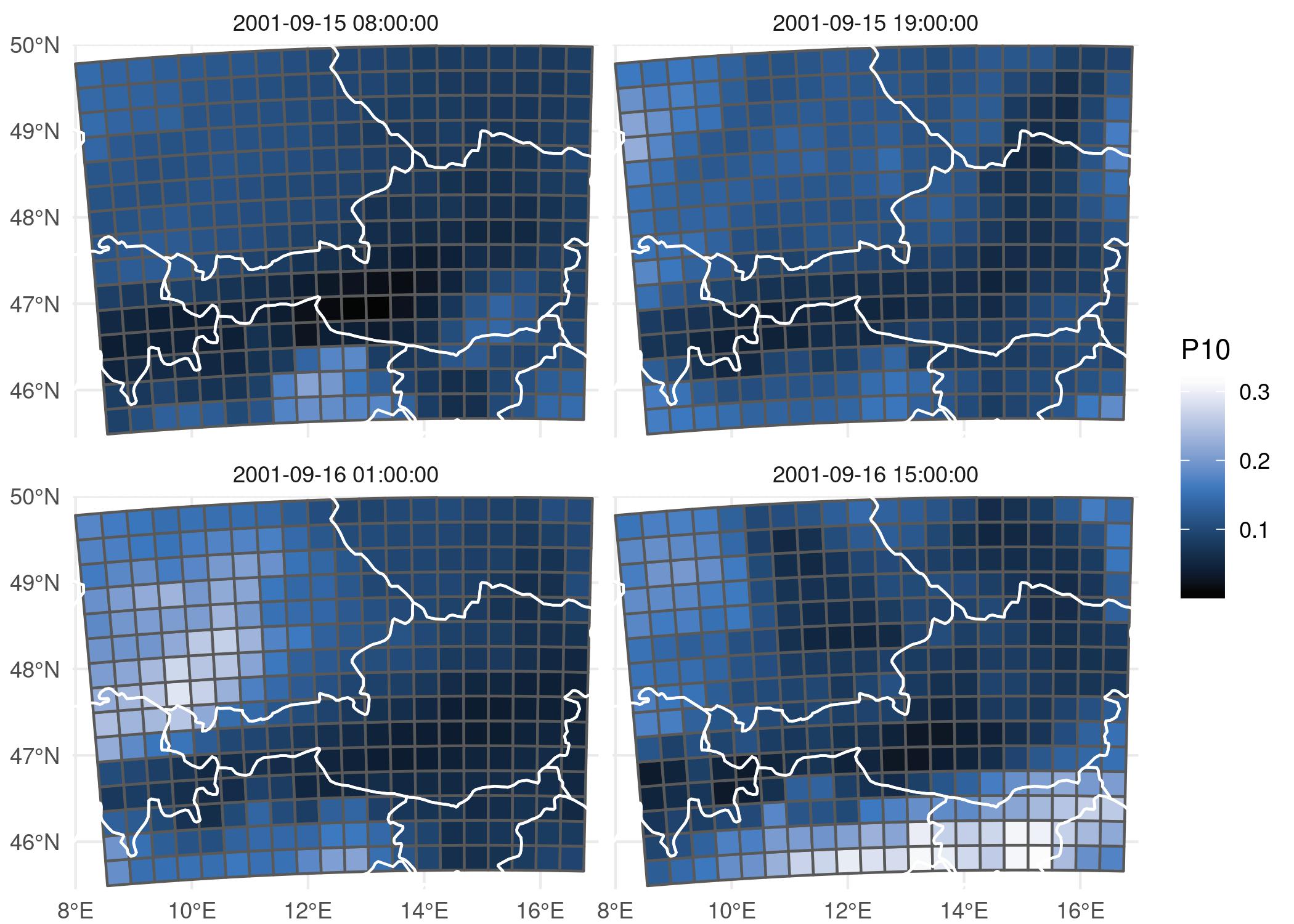 flash model, spatial maps